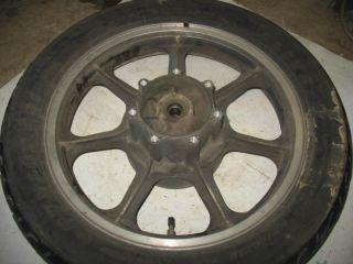 Rear Wheel Tire Rim Hub 85 Kawasaki KZ1000 Police 84