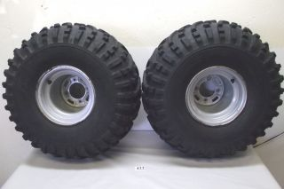 Honda TRX 250 Fourtrax TRX250 ATV Rear Tires Wheels 1985 85