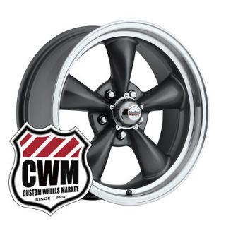 Gray Wheels Rims 5x4 75 Lug Pattern for Pontiac Grand Am 73 80