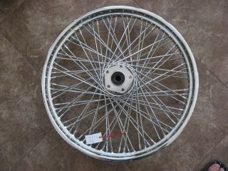 Harley 21 Front Wheel 80 Spokes Wideglide 3 4 Axle Spoked Softail