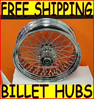 Chrome 18 x 5 5 80 Spoke Rear Wheel Harley Chopper