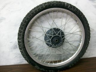 1986 86 Honda XL250R XL 250 R Front Wheel Tire Rim