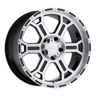 17 x8 inch V Tec Raptor Wheels Rims 6x135 Ford F150 25