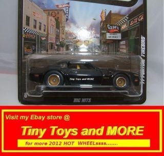2012 Hot Wheels 77 Pontiac Firebird Boulevard Series Big Hits WRRS