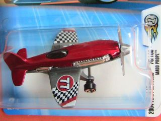Hot Wheels 2004 First Editions Mad Propz Stunt Plane No 77 Orange