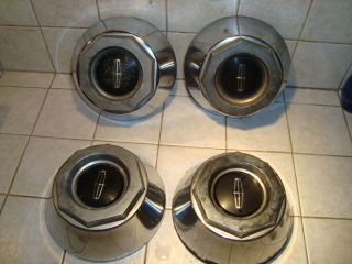 Factory OEM 77 78 79 Lincoln Town Car Wheel Hub Center Cap Set of 4