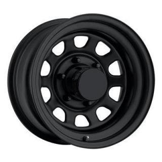 Pro Comp Steel Wheels 15 x 8 Flat Black 6x5 5 New Set of 4