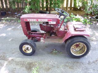 Attention Antique Wheel Horse Tractor Lovers B 80 Lawn Tractor