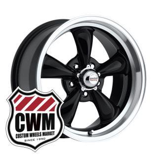 Black Wheels Rims 5x4 75 Lug Pattern for Olds Cutlass 82 88