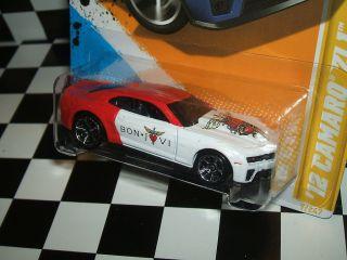 Hot Wheels 2012 Chevy Camaro ZL1 Bon Jovi Custom