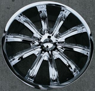 22 inch Incubus Wheels Rims Ford Five Hundred Mustang