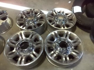 Factory Ford F 250 F 350 20 inch King Ranch Wheels 2011 2012