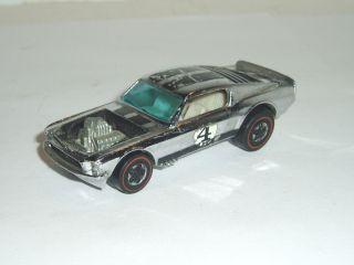 Vintage 1969 Mattel Hot Wheels Red Line Mustang Boss Hoss