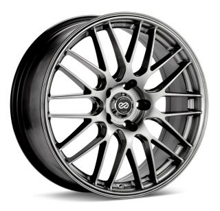 18x8 Enkei EKM3 Silver Wheel Rim s 5x112 5 112 18 8
