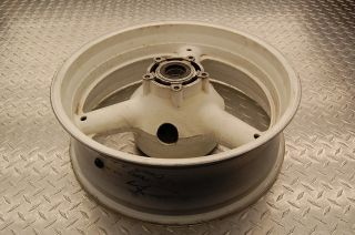 96 97 98 99 00 Suzuki GSXR 600 750 Srad Rear Wheel Rim Rims Wheels