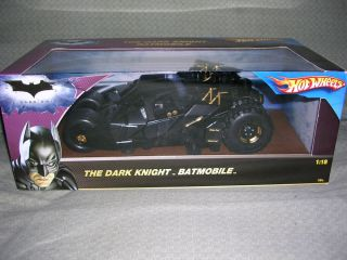 Hot Wheels 1 18 Dark Knight Tumbler Batmobile