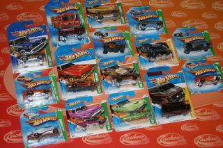Hot Wheels Super Treasure Hunt and Treasure Hunt Diecast Cars