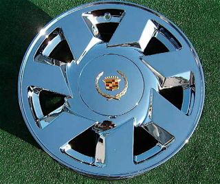 2000 2001 2002 New Chrome Cadillac DeVille DTS GM Style 17 inch Wheel