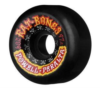 Powell Peralta Rat Bones II 97A Skateboard Wheels Blk