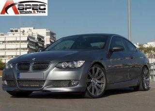 18 M3 Style BMW 5x120 Gun Metal Machined Wheel Fit E46 E90 E91 E92