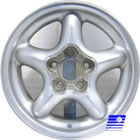 94 98 Ford Mustang GT Cobra 16 x 7 5 Factory 5 Spoke Chrome Wheel Rim