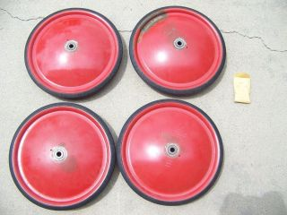 Vintage Official Soap Box Derby Wheels Never Used