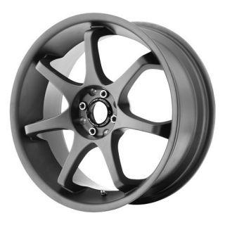 16 inch Motegi MR125 Gray Wheels Rims 5x4 5 Caliber Intrepid Stealth