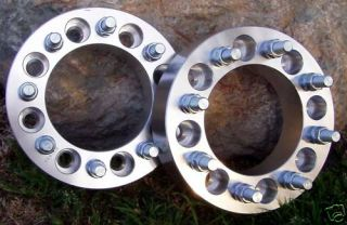 Chevy HD Wheel Spacers Adapters 2500 3500 8 Lug
