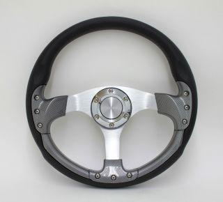 Volkswagon Toyota Honda Pursuit Performance 14 Aluminum Steering