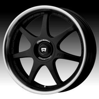18 inch Motegi MR2378 Black Wheels Rims 5x100 TT Cavalier PT Cruiser