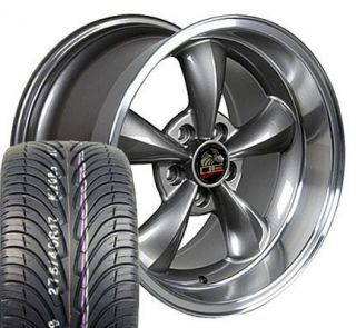 Bullitt Wheels ZR Tires Bullet Rims Fit Mustang® GT 94 04