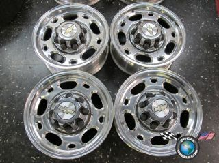 Four 99 10 Chevy GMC HD 2500 HD2500 Factory 16 Wheels OEM Rims 5079