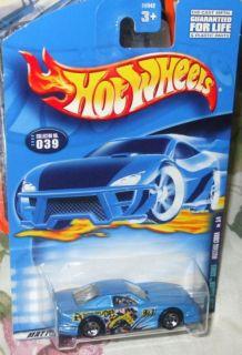 2000 Hot Wheels 039 Lt Blue Mustang Cobra 3 4 Speed B