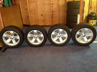Dodge Challenger Charger 18 Wheels Continental Tires