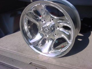 15x8 Wheels Chevy S10 Ford F150 Wrangler Ranger Dodge Wheels