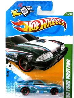 Hot Wheels 2012 Treasure Hunts 92 Ford Mustang