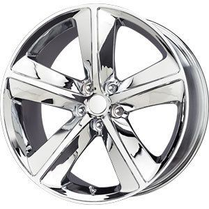 New 20x9 5x115 Replica Challenger Chrome Wheels Rims