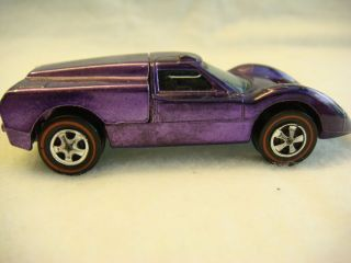 HOT WHEELS RED LINE, RL, SHINY PURPLE FORD J CAR, NEAR MINT !!!.
