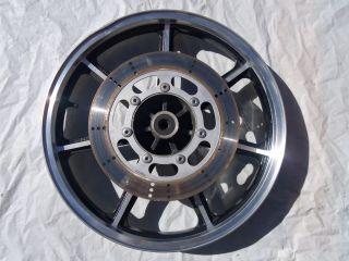 94 Kawasaki Vulcan VN 1500 Front Wheel Front Rim Rotor Stock