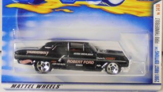 Hot Wheels 2001 First Editions Ford Thunderbolt 1 64 Scale 34 36 NIP