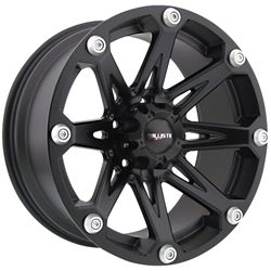 20 Inch Black Ballistic Jester Wheels Rims Ford F150 Expedition 20x9