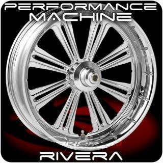 Chrome Wheels 09 Up Harley Street Glide Road King Ultra