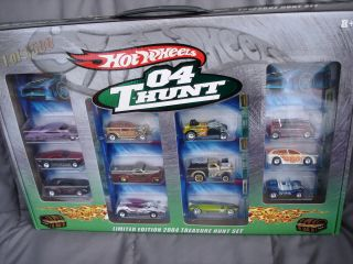 2004 Hot Wheels Boxed Treasure Hunt Set JC Penney