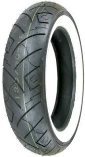 Shinko 777 Front Motorcycle Tire 130 90 16 Whitewall Vulcan RoadStar