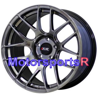 18 XXR 530 C Black Wheels Rims Concave Staggered 98 04 Ford Mustang GT