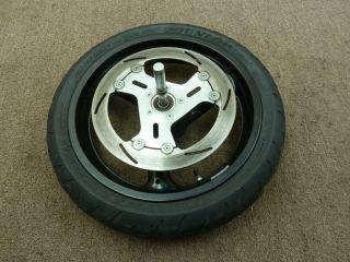 1999 99 Buell x1 Lightning Front Wheel Rim Tire Rotor