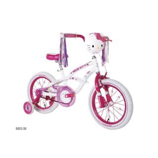 Hello Kitty Girls Bicycle Bike 16 w Training Wheels BNIB
