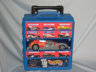 Hot Wheels Carry Case on Wheels w Extending Handle Holds 100 Cars 110