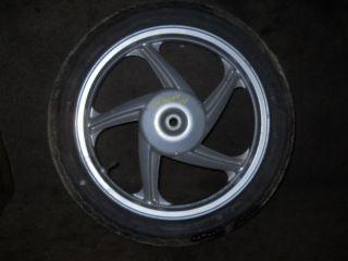 08 Kymco People 150 200 125 Ego Rear Rim Wheel Tire Bike Moped