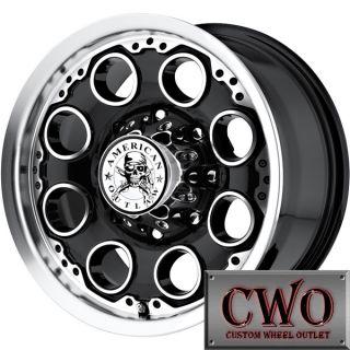 17 Black AO Patrol Wheels Rims 5x139 7 5 Lug Dodge Ram 1500 Dakota